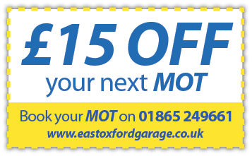 £15 off next MOT